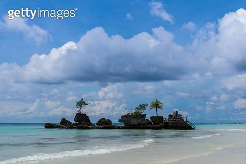 화이트 비치(White Beach), 필리핀 보라카이(Philippines Boracay) - gettyimageskorea