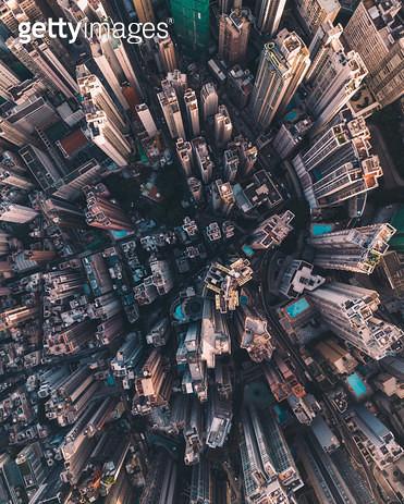 홍콩 드론샷 - gettyimageskorea