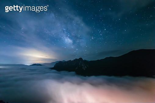강원도.속초시.설악산.국립공원.은하수 .명승 제100호 - gettyimageskorea