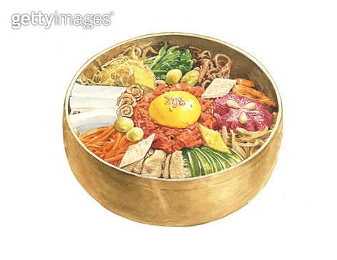비빔밥, 음식 - gettyimageskorea