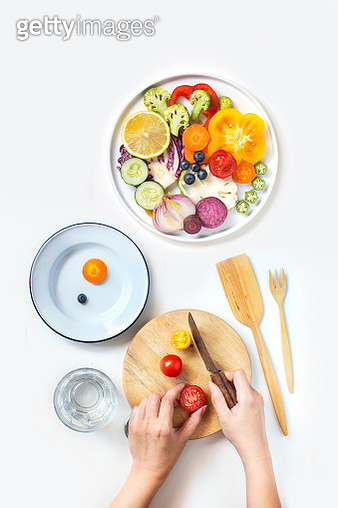 Healthy eating concept image. - gettyimageskorea