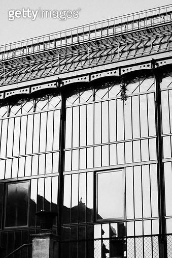 프랑스,식물원,보타니컬,건물,흑백,그림자 - gettyimageskorea