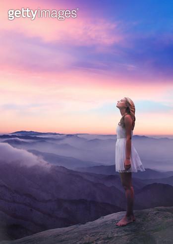 고요한 새벽 하늘 - gettyimageskorea