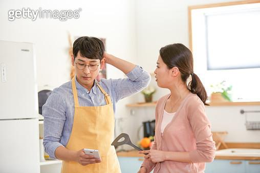 부부 요리 - gettyimageskorea