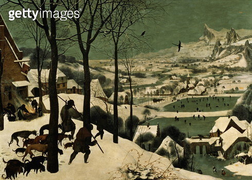 Hunters in the Snow - February, 1565 - gettyimageskorea