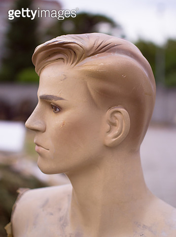 man mannequin face - gettyimageskorea