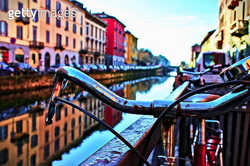 bike Navigli - gettyimageskorea
