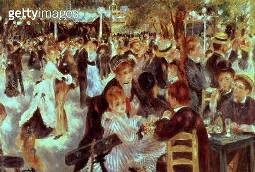 Ball at the Moulin de la Galette, 1876 (oil on canvas) Ball at the Moulin de la Galette, 1876 - gettyimageskorea