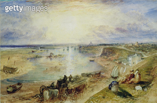 <b>Title</b> : Shoreham, c.1830 (w/c on paper)<br><b>Medium</b> : watercolour on paper<br><b>Location</b> : Blackburn Museum and Art Gallery, Lancashire, UK<br> - gettyimageskorea