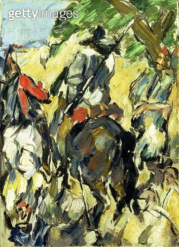 <b>Title</b> : Don Quixote, View from the Back, c.1875 (oil on canvas)<br><b>Medium</b> : oil on canvas<br><b>Location</b> : Private Collection<br> - gettyimageskorea