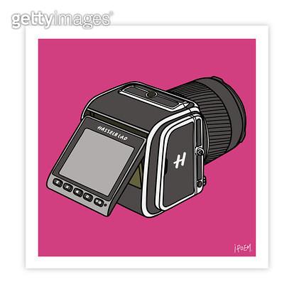 디지털카메라 반측면 - gettyimageskorea
