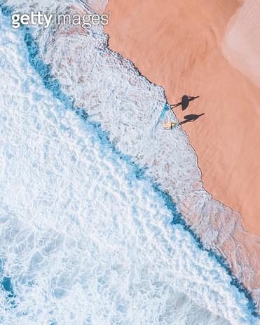 two surfers - gettyimageskorea