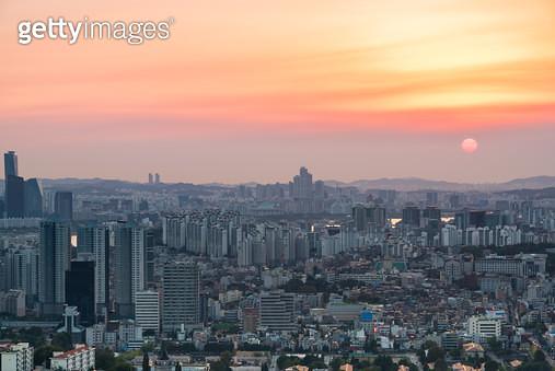 서울 풍경, 대한민국 서울특별시 - gettyimageskorea