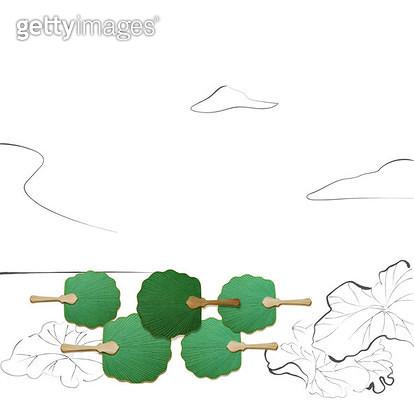 연못 풍경 그림 - gettyimageskorea