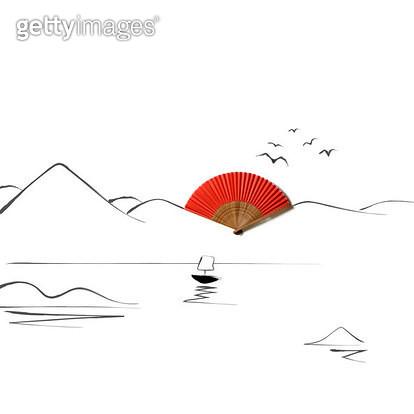 배가 떠있는 풍경 - gettyimageskorea
