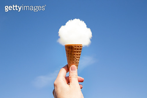 Cloud ice cream. - gettyimageskorea