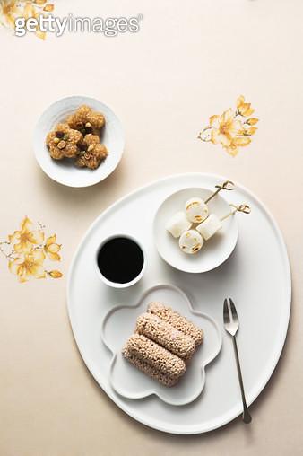 약밥, 가래떡 구이 - gettyimageskorea