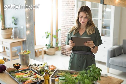 Healthy vegetables meal preparation - gettyimageskorea