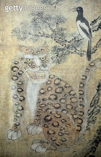 충주박물관 전시소장품, 호작도 - gettyimageskorea