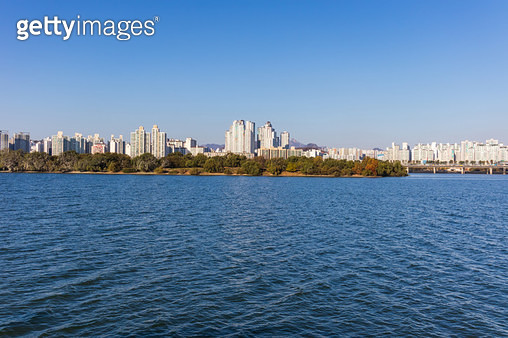 밤섬, 서울시 영등포구 여의도동 - gettyimageskorea