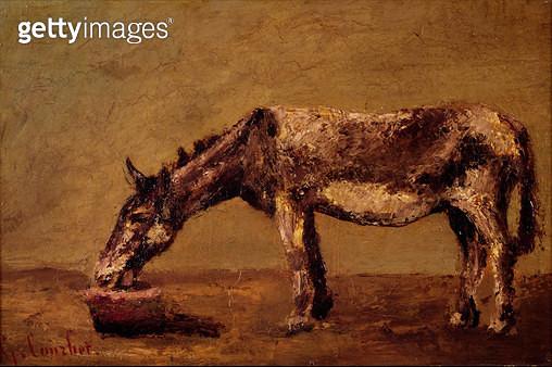 <b>Title</b> : The Donkey (oil on canvas)<br><b>Medium</b> : oil on canvas<br><b>Location</b> : Musee de la Ville de Paris, Musee du Petit-Palais, France<br> - gettyimageskorea