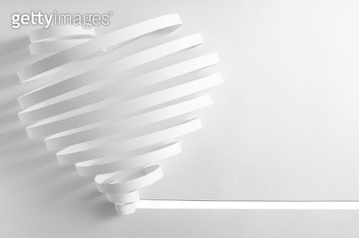 Close-Up Of Heart Shape On Table - gettyimageskorea