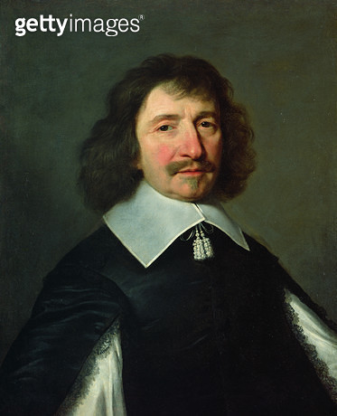 <b>Title</b> : Portrait of Vincent Voiture (1597-1648) c.1643-44 (oil on canvas)<br><b>Medium</b> : oil on canvas<br><b>Location</b> : Musee Bargoin, Clermont-Ferrand, France<br> - gettyimageskorea