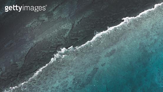 Arial views over the Ningaloo reef, Australia - gettyimageskorea