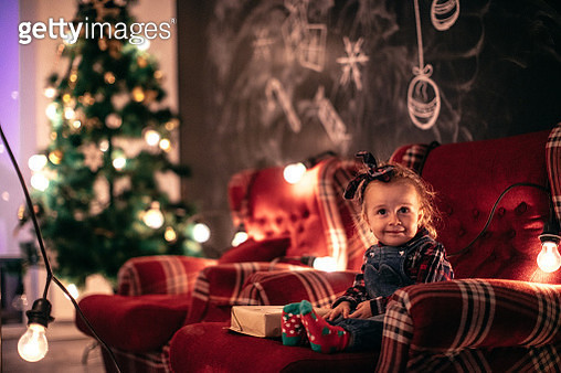 I love Christmas - gettyimageskorea