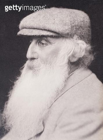 <b>Title</b> : Portrait of Camille Pissarro (1830-1903) (b&w photo)<br><b>Medium</b> : <br><b>Location</b> : Private Collection<br> - gettyimageskorea