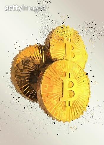 Bitcoins, illustration - gettyimageskorea