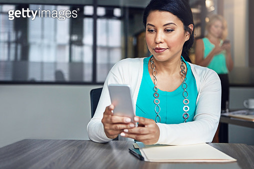 Staying connected to her personal and professional world - gettyimageskorea