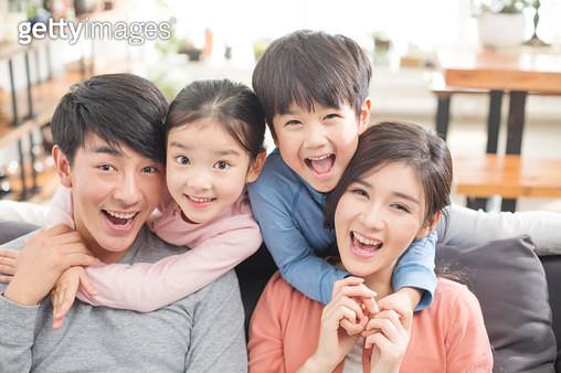 화기애애한 가족 - gettyimageskorea
