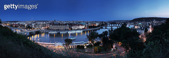 Prague Skyline (Czech Republic) - gettyimageskorea