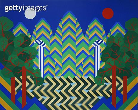 Sun&Moon&Five Peaks - gettyimageskorea