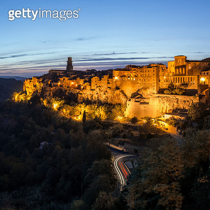 Pitigliano, Italy. - gettyimageskorea