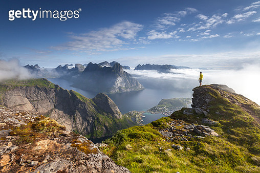 Sunrise, Lofoten, Norway - gettyimageskorea