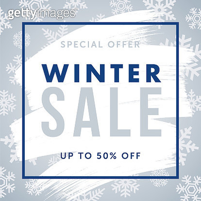 Winter design for advertising, banners, leaflets and flyers. - gettyimageskorea
