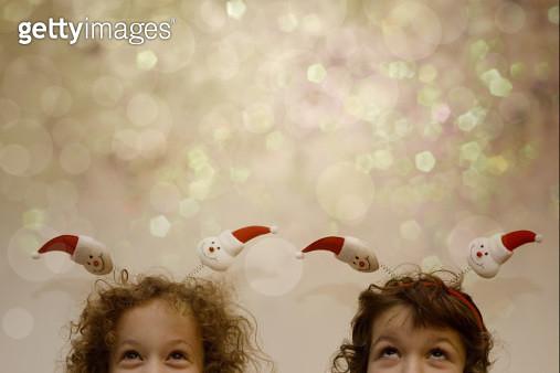 Christmas girls - gettyimageskorea
