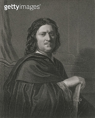 <b>Title</b> : Self Portrait, engraved by James Posselwhite (1798-1884) pub. by William Mackenzie (engraving)<br><b>Medium</b> : <br><b>Location</b> : Private Collection<br> - gettyimageskorea