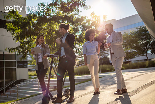 Young group of business professionals - gettyimageskorea