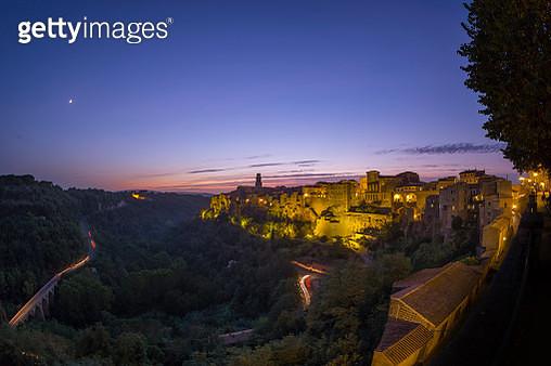 Pitigliano, Tuscany, Italy. - gettyimageskorea