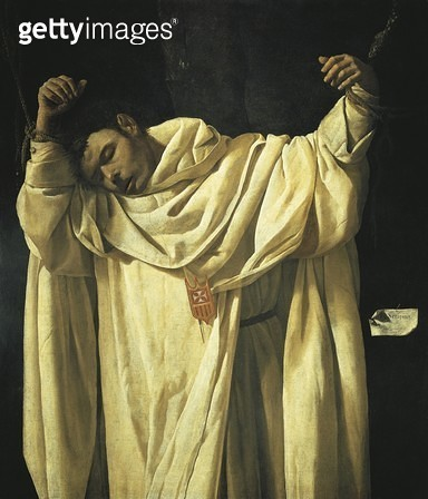 Martyrdom of St Serapion/ 1628/ by Francisco de Zurbaran (1598-1664)/ oil on canvas. - gettyimageskorea