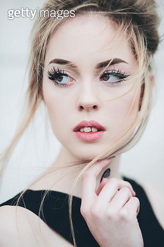 Beautiful girl portrait - gettyimageskorea
