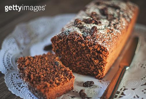 Chocolate plum cake - gettyimageskorea