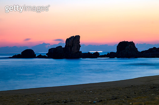 Sunrise Scenery at the Opbawi Seaside - gettyimageskorea