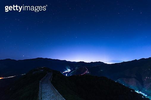 Great Wall of China, China (Night) - gettyimageskorea