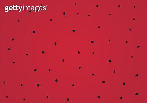 Vector watermelon seeds background design - gettyimageskorea