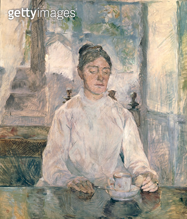 <b>Title</b> : Adele Tapie de Celeyran (1840-1930) Countess of Toulouse-Lautrec-Monfa, 1881 (oil on canvas)<br><b>Medium</b> : oil on canvas<br><b>Location</b> : Musee Toulouse-Lautrec, Albi, France<br> - gettyimageskorea