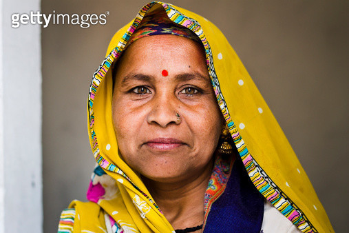 Indian Woman, March, 2013 - gettyimageskorea